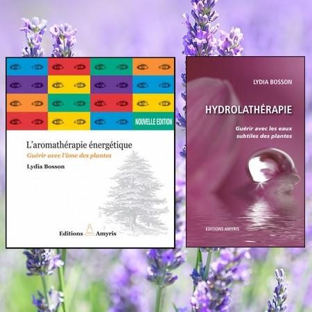 Deux livres de références écrits par Lydia Bosson